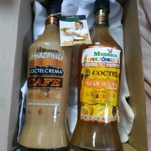box regalo licor cafe y licor maracuya